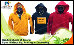 P403: Hoodies| Pull-over Jacket by DigitLand