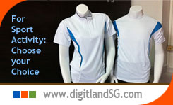 P103: T Shirt Supplier in Singapore