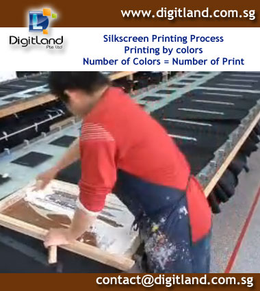 T-Shirt Printing in DigitLand Production
